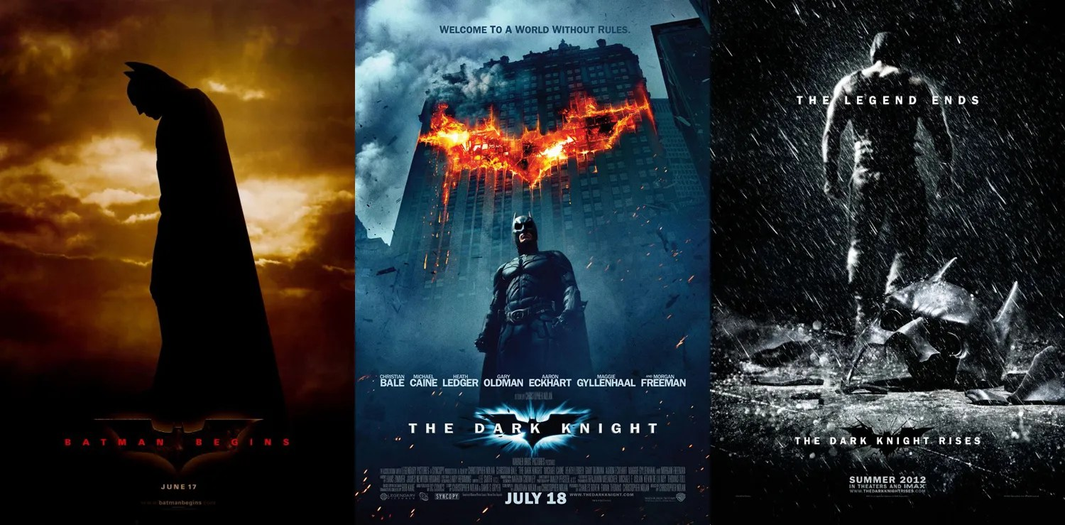 Image result for dark knight trilogy