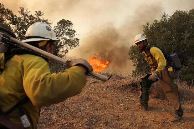 Hollywood Adapt This Wildland Firefighting  Hotshots