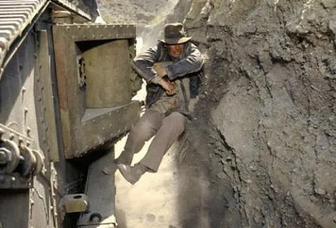Image result for Indiana jones tank scene