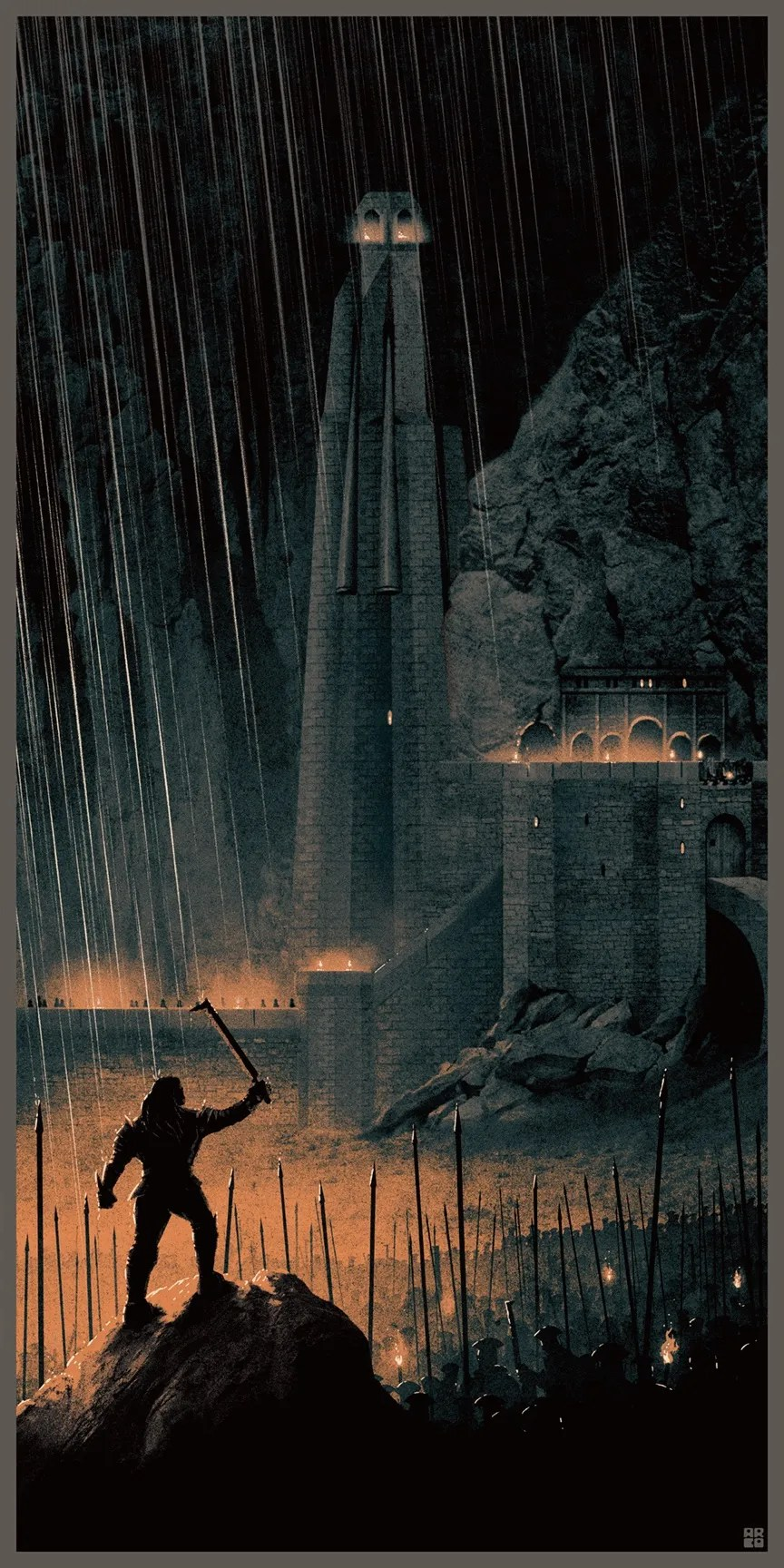 Matt Ferguson's Lord Of The Rings Posters Are Amazing