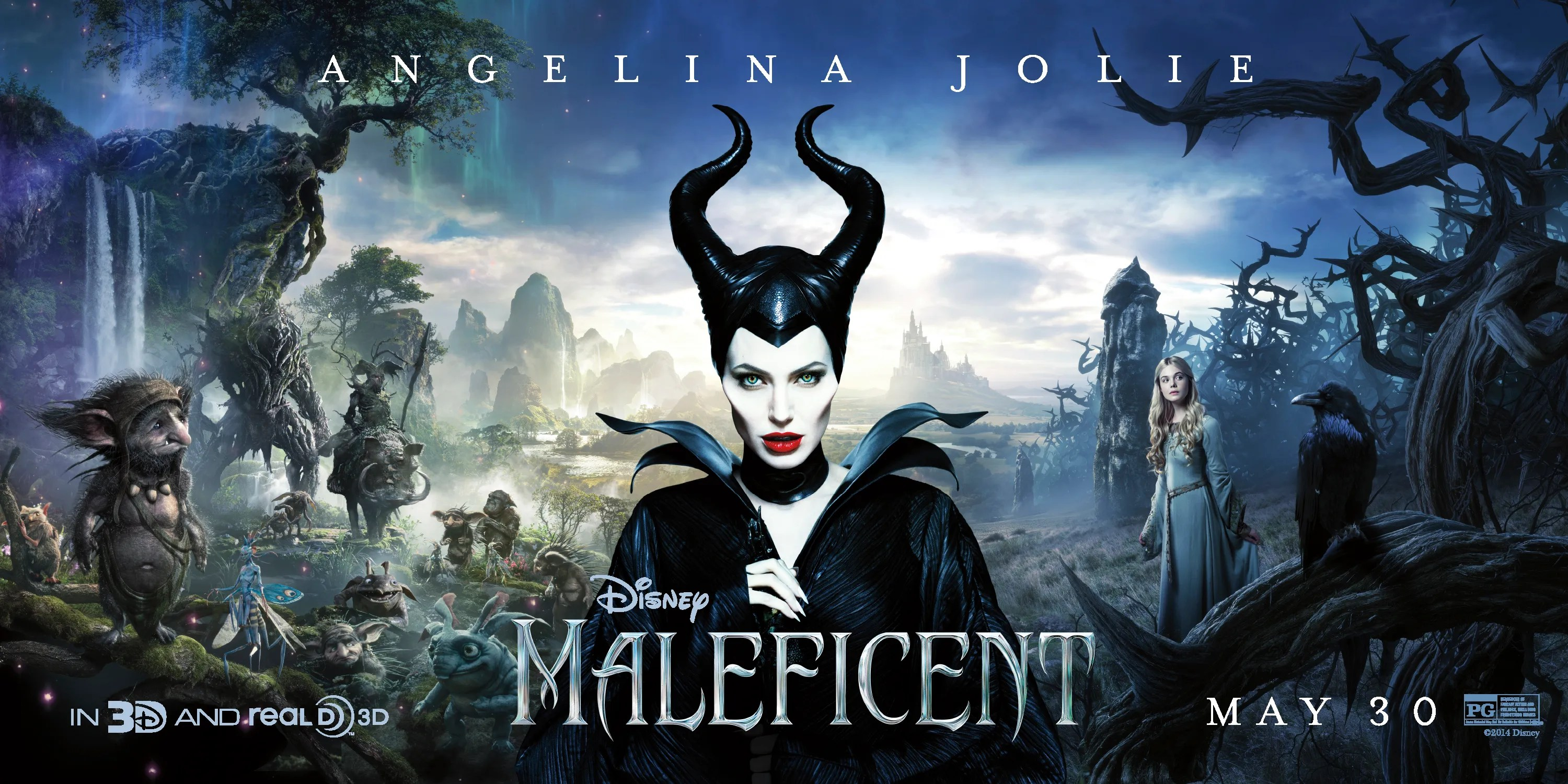 My 2014 Movies Maleficent 12 The Ranting Sbox