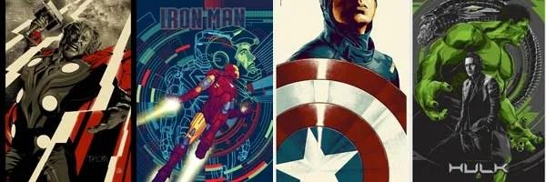 the avengers mondo posters