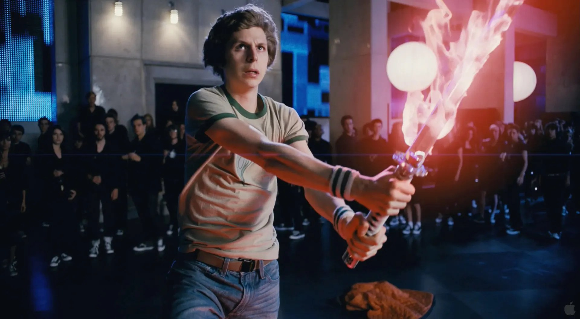 Image result for scott pilgrim level up