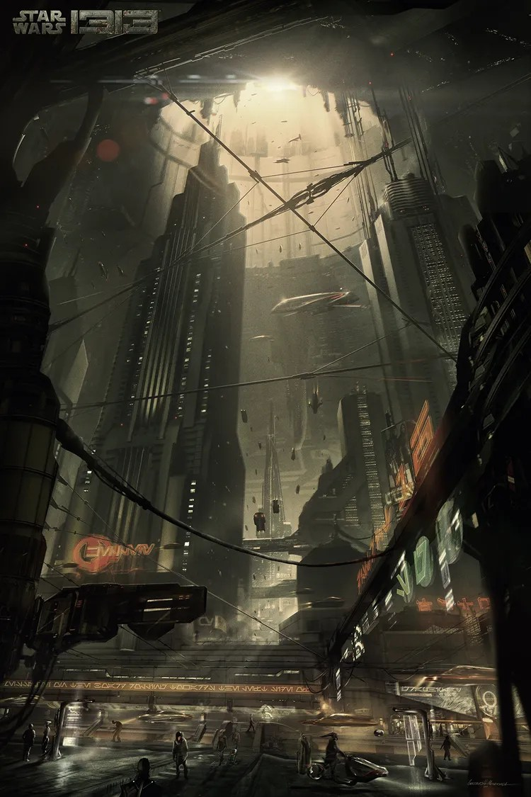 STAR WARS 1313 Concept Art Images STAR WARS 1313 Was Canceled Earlier This Year Collider