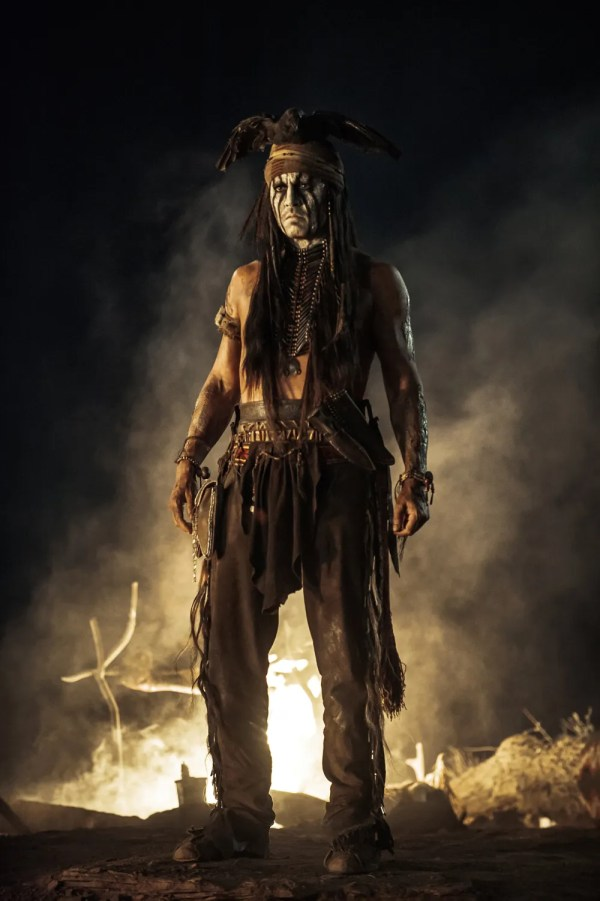 Lone Ranger Johnny Depp as Tonto