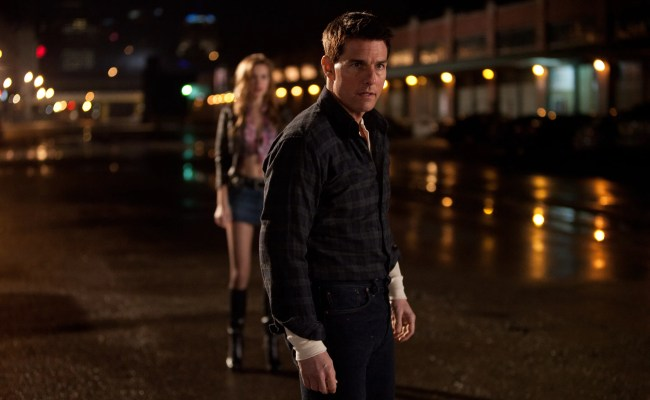 Jack Reacher Clips And Images Featuring Tom Cruise Collider