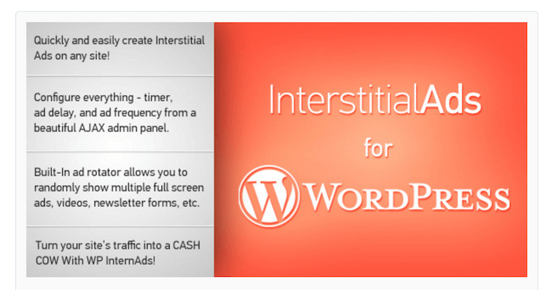 Interstitial Ads for WordPress
