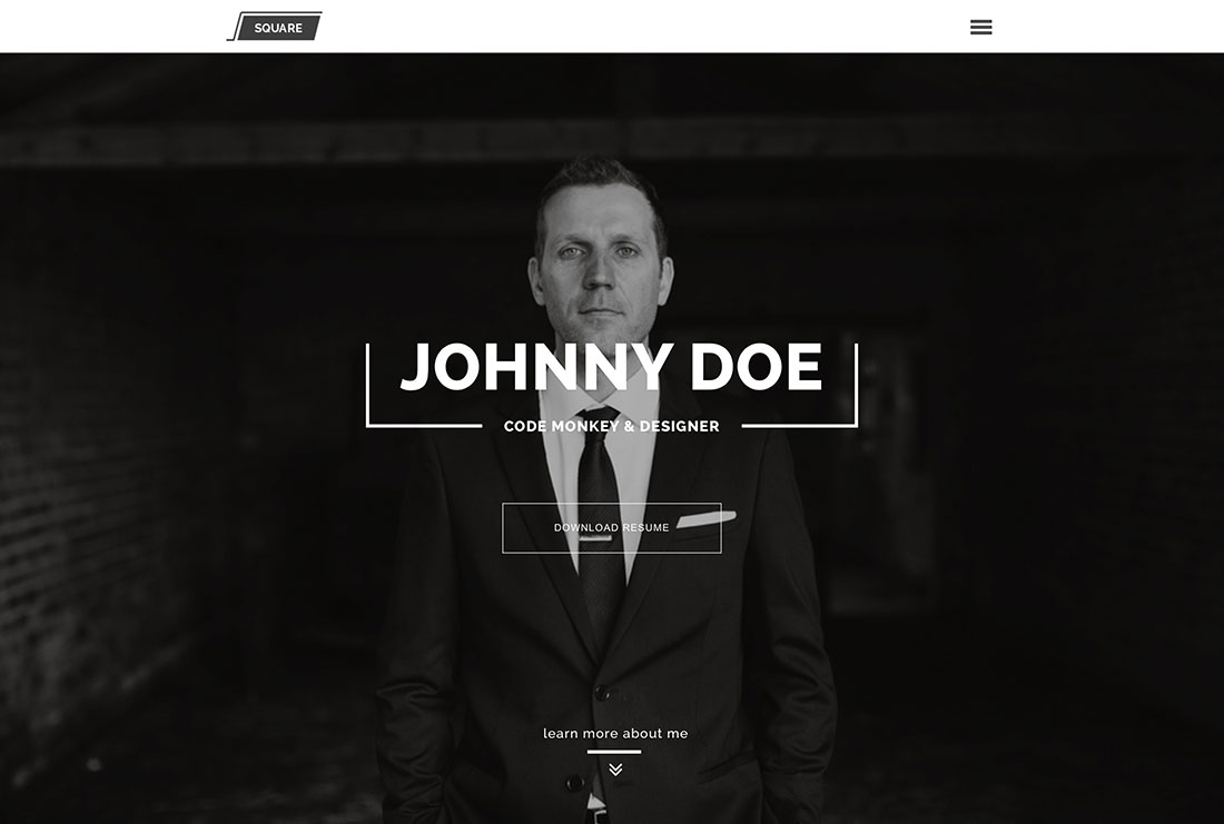 31 Best Vcard Wordpress Themes 2018 For Your Online Resume And Personal  Portfolio
