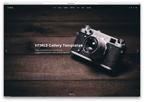 Gallery HTML5 Website Templates