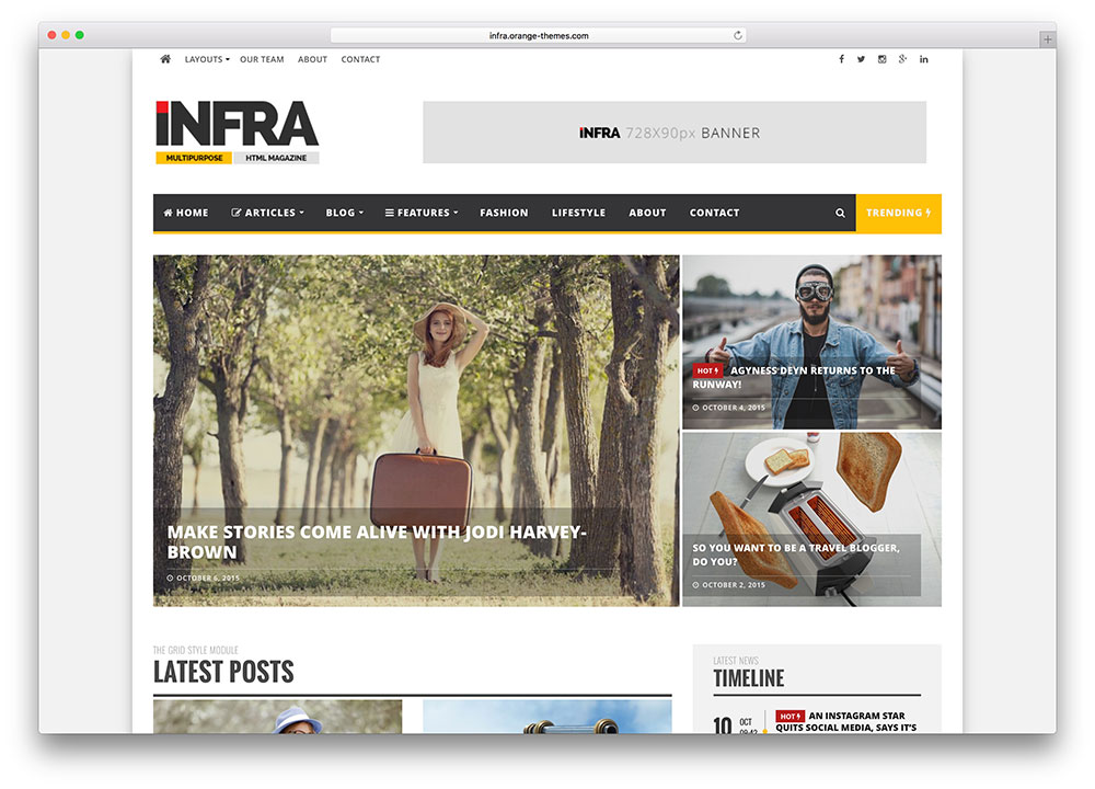 Infra-multipurpose-magazine-wordpress-theme