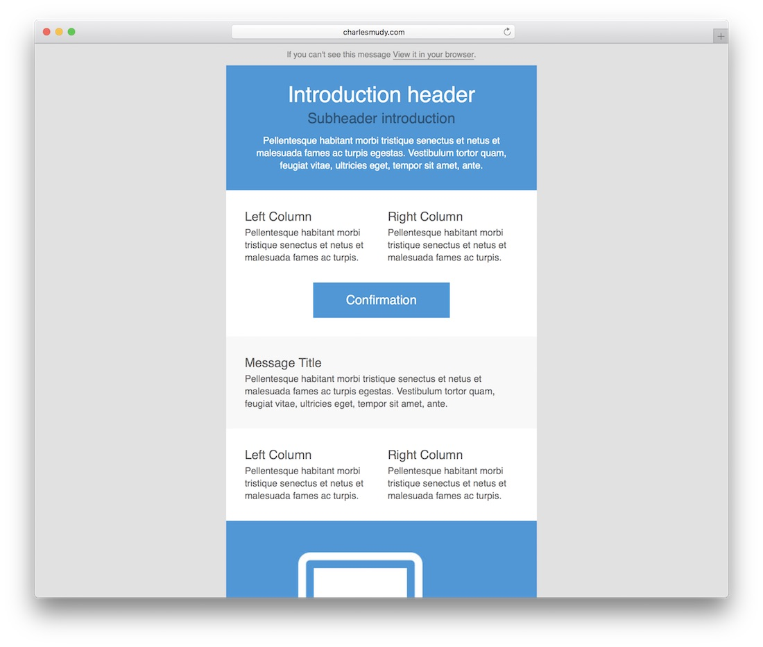 Respmail Responsive Html Email Template