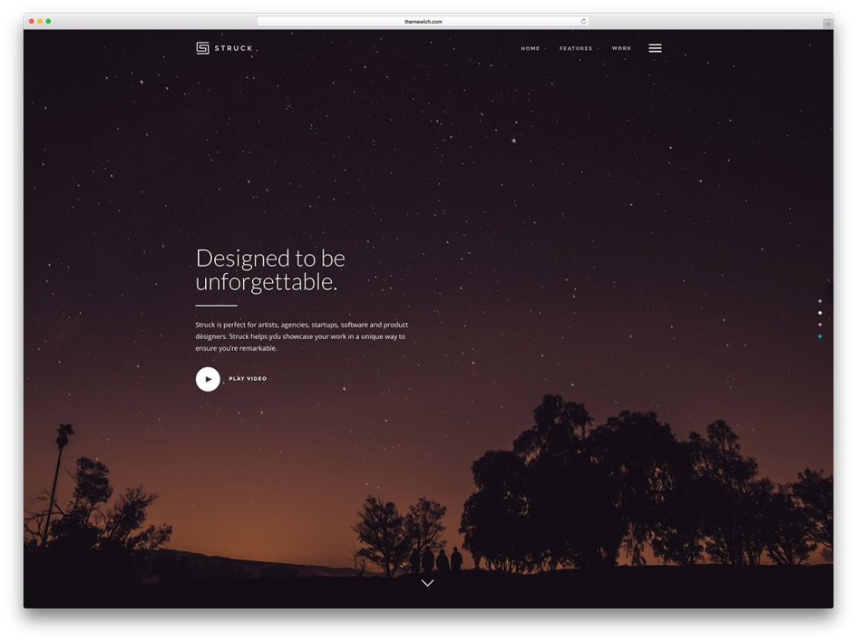 struck-fullscreen-wordpress-portfolio-theme