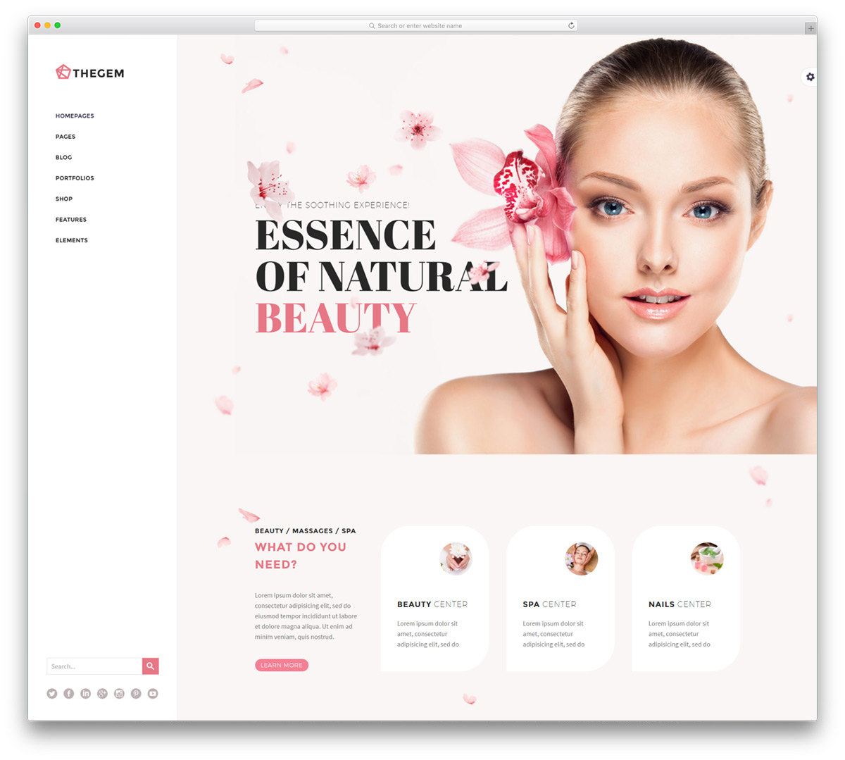 34 Beautiful Spa & Beauty Salon WordPress Themes 2019