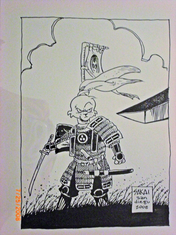 Usagi Yojimbo Comic Art