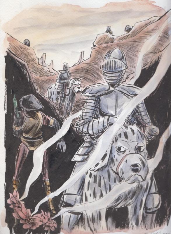 Atomic Knights Strange Adventures #144 Cover Homage by Matt Kindt Comic Art