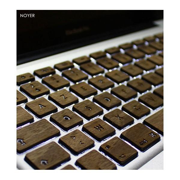 Clavier en bois pour Macbook  CommentSeRuiner
