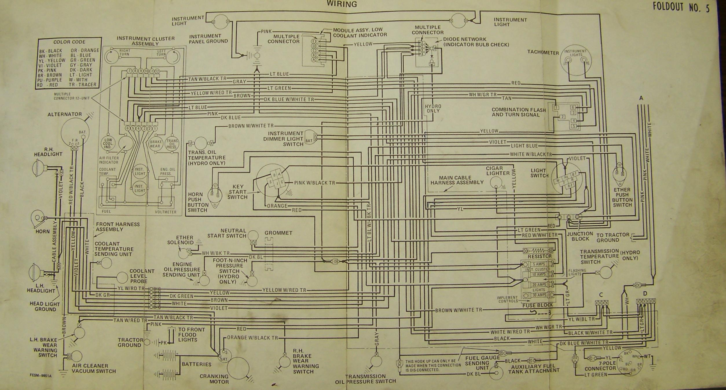 ih 300 wiring diagram