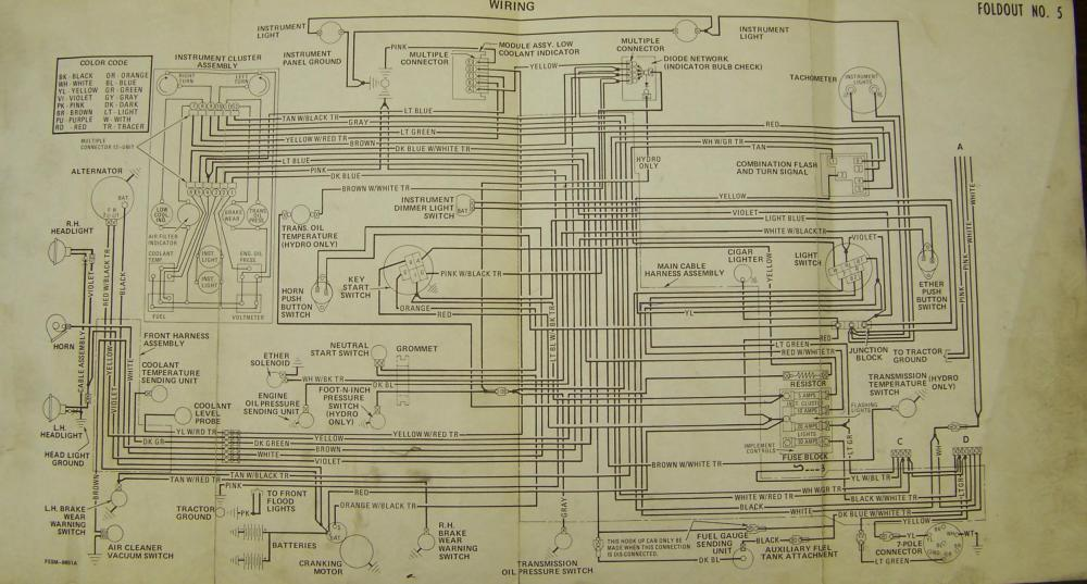 medium resolution of carter gruenewald co inc ih farmall tractor electrical wiring farmall 140 wiring diagram 806 farmall tractor wiring diagram