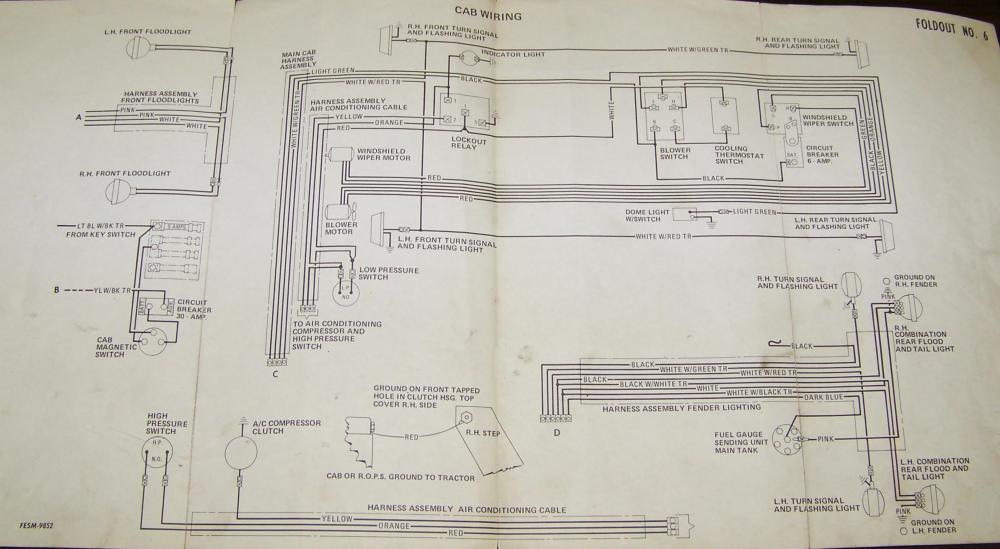 medium resolution of carter gruenewald co inc ih farmall tractor electrical wiring 706 farmall tractor wiring diagram