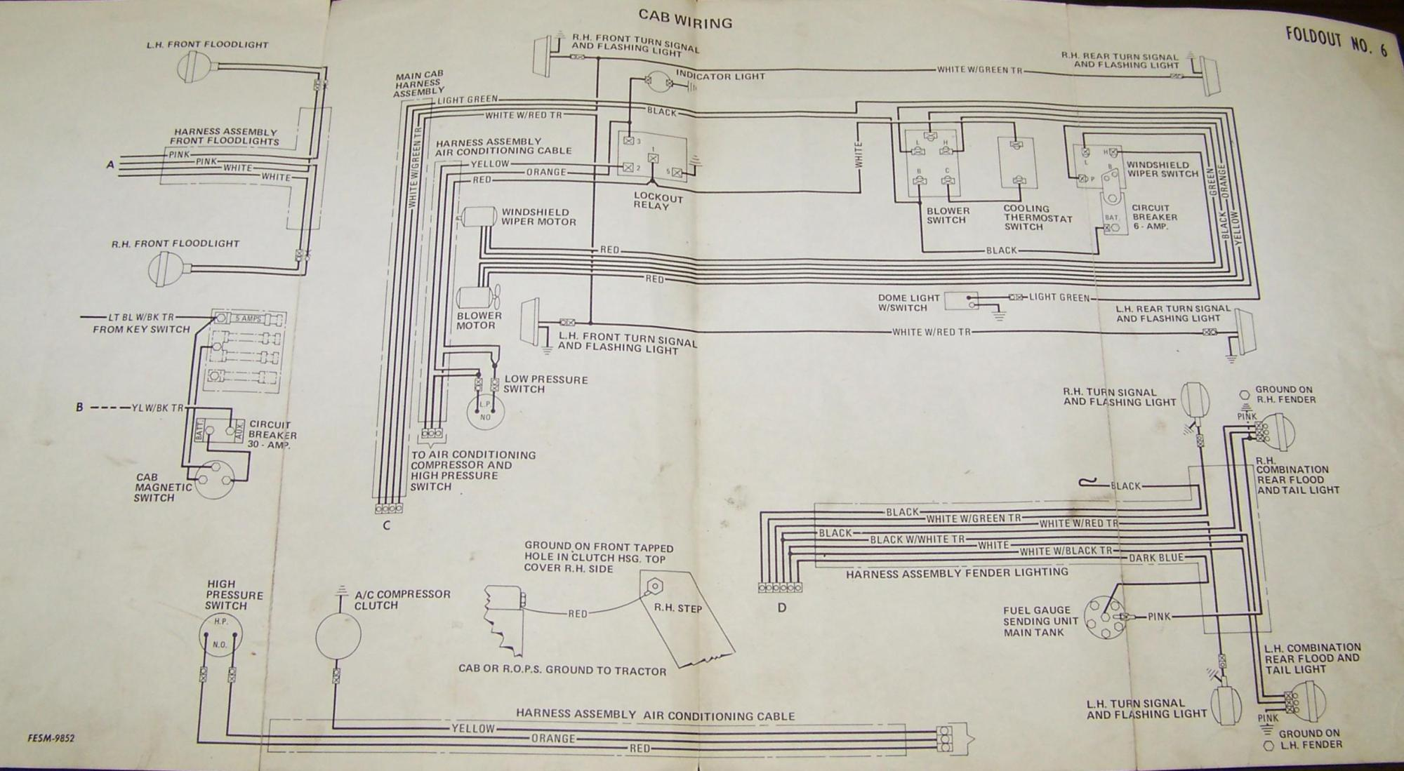 hight resolution of 6 volt positive ground electrical system wiring diagram