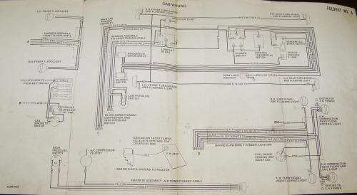 small resolution of 6 volt positive ground electrical system wiring diagram