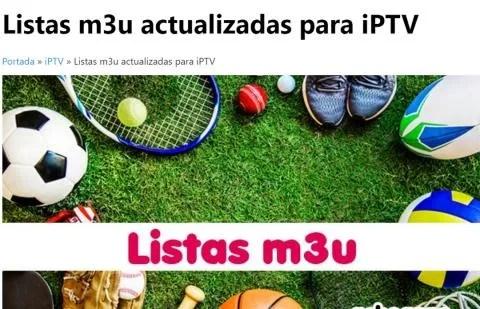 IPTV lists