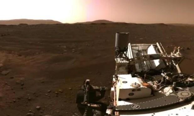 Vídeo Perseverance Marte