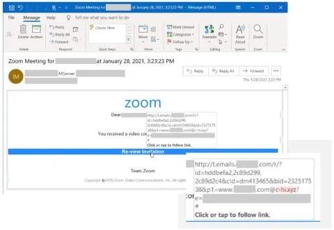 Campanya Phishing Zoom