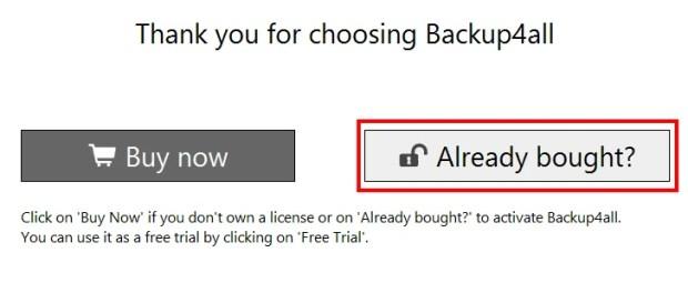 Backup4all Lite 5 - бесплатная лицензия