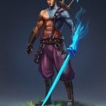 Samurai Illustrations Concept Paintings Character Designs