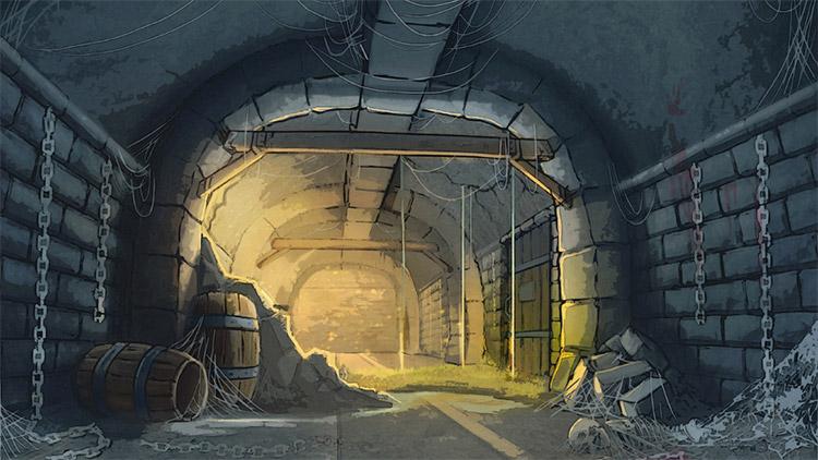 dungeon concept art environment