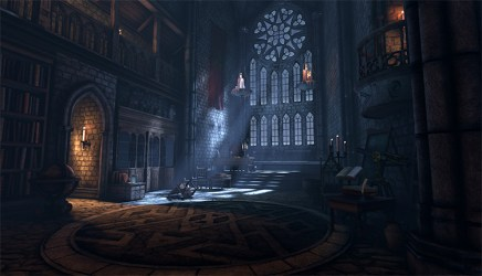 interior gothic concept medieval library environment palace castle fantasy buildings inspiration ninjago beginning alira escapade chapter wip ue4 royal heavy