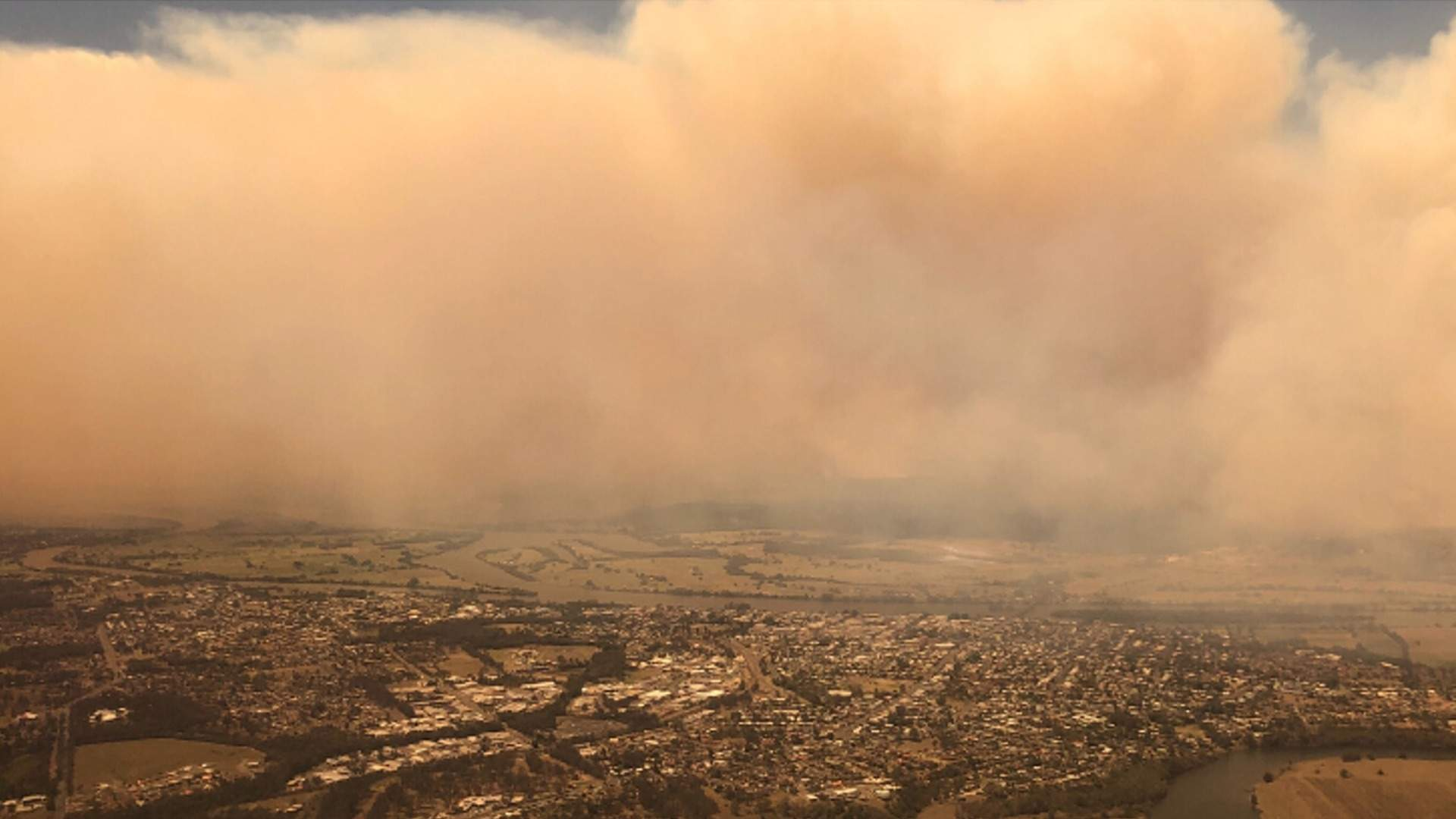 A Haze Of Bushfire Smoke Is Currently Affecting The Air