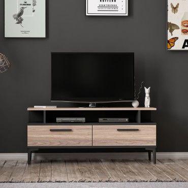 homemania meuble tv sery moderne avec