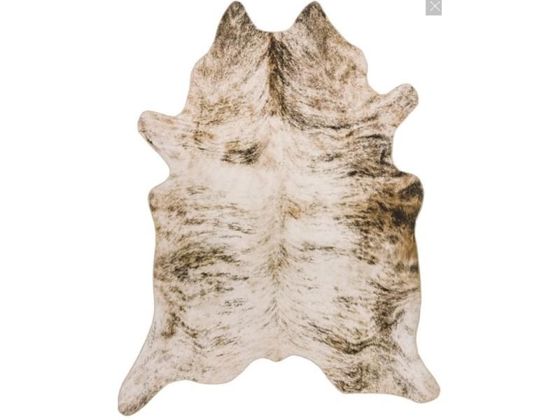 tapis style peau de vache cowhide