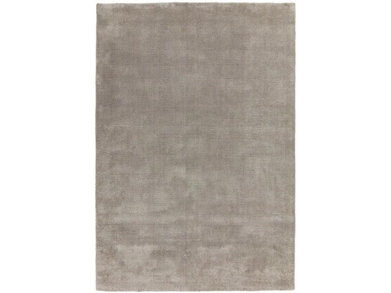 tapis luxe laine et viscose tufte main pastel 200x300 cm