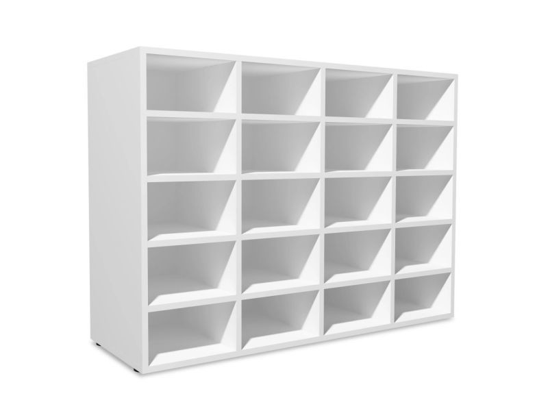 icaverne etageres et casiers a chaussures reference etagere a chaussures agglomere 92 x 33 x 67 5 cm blanc
