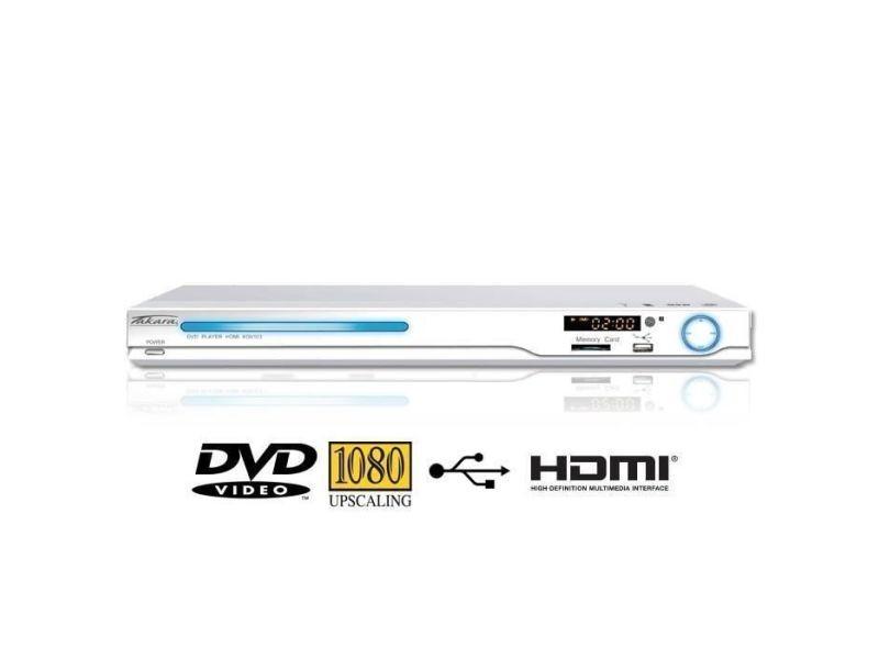 kdv103w lecteur dvd usb sd hdmi blanc