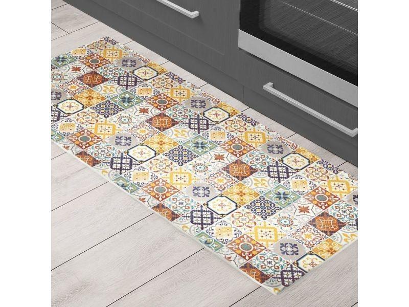 tapis carreaux ciment