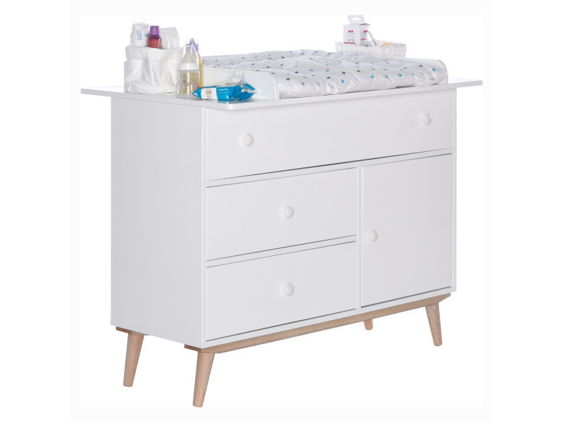 Chambre bb volutive avec commode  langer happy LB60A