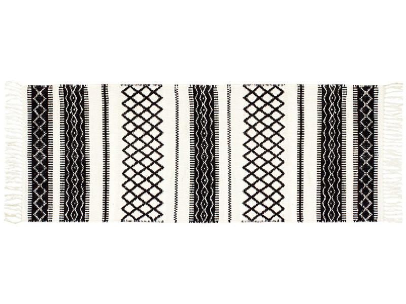 tapis de bain impression ethnique 120 x 45 x 0 7 cm