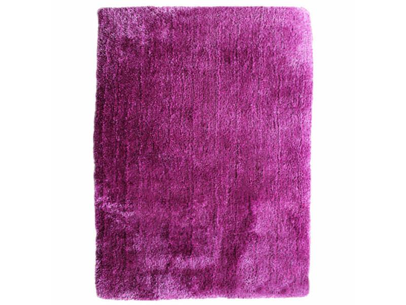 best of tapis poils longs toucher laineux violet 130x190