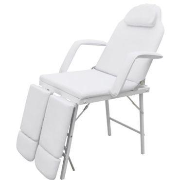 Icaverne Fauteuils De Massage Serie Fauteuil De Podologie Blanc Creme Inclinable Et Pliant Vente De Sans Marque Conforama