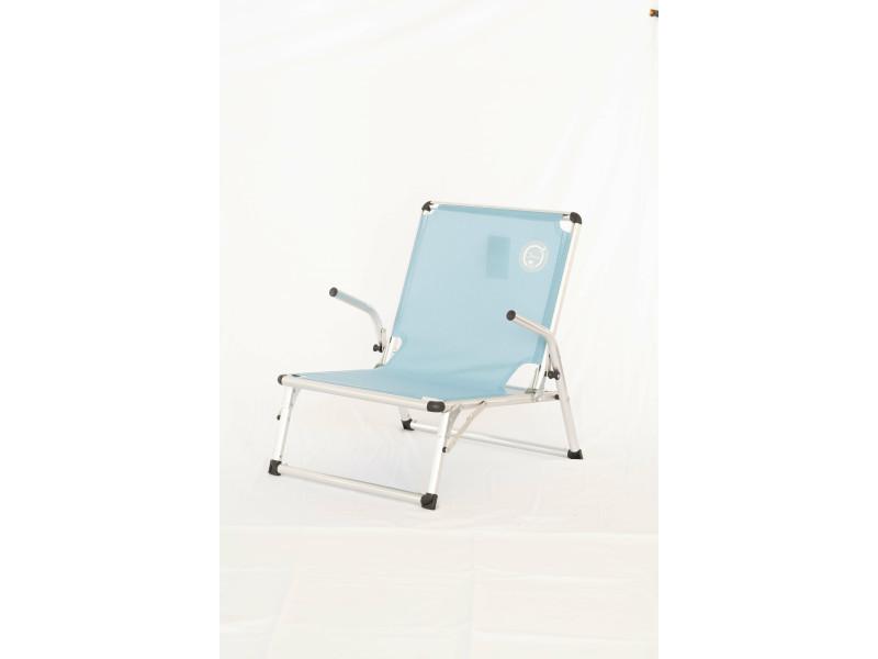 o beach chaise de plage luxe structure pliable et confortable