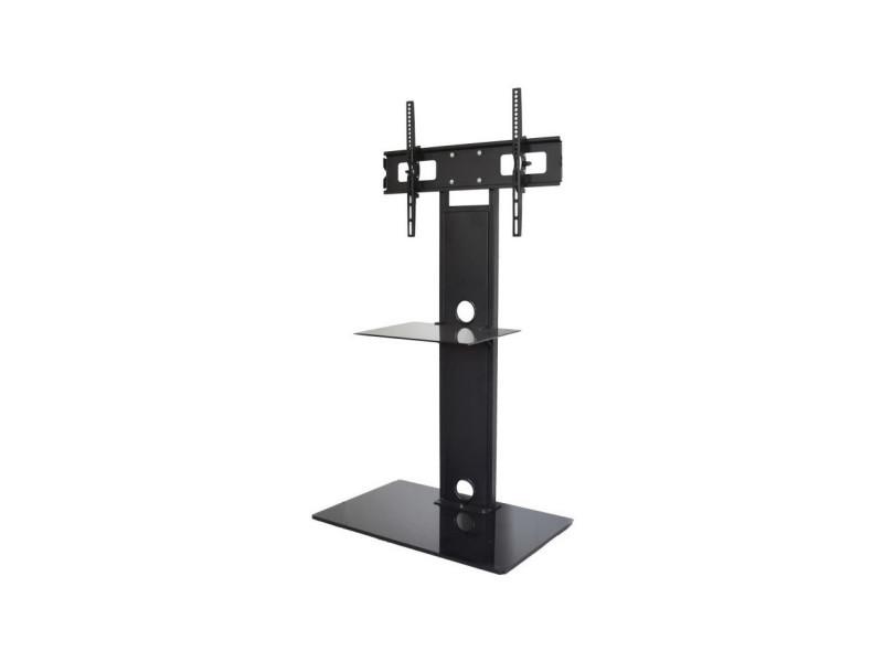 helios 3255 meuble tv colonne pour ecrans plats de 32 a 55