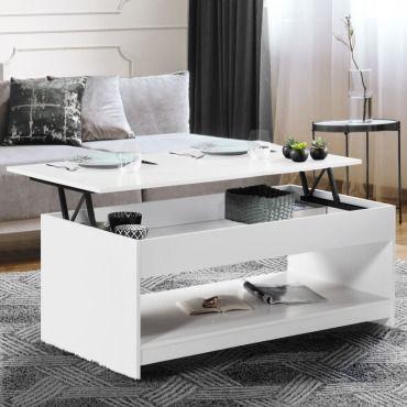 table basse plateau relevable soa bois