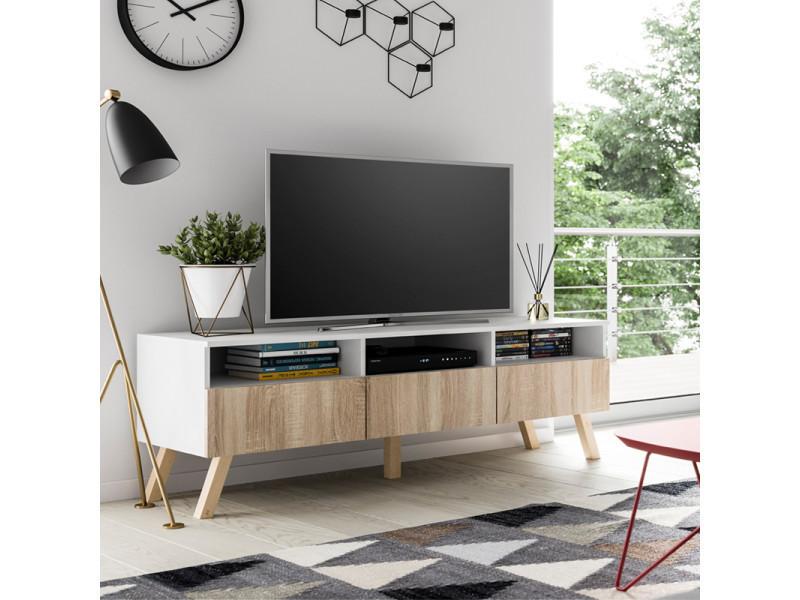 meuble tv hetre