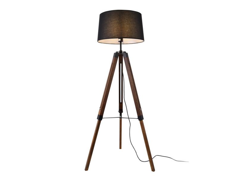 lampadaire design bois