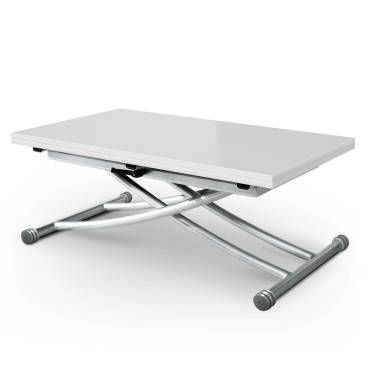 table basse relevable carrera blanc
