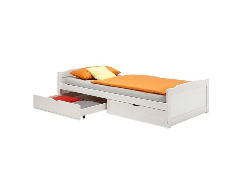 lit 90 cm avec rangement venus et judes